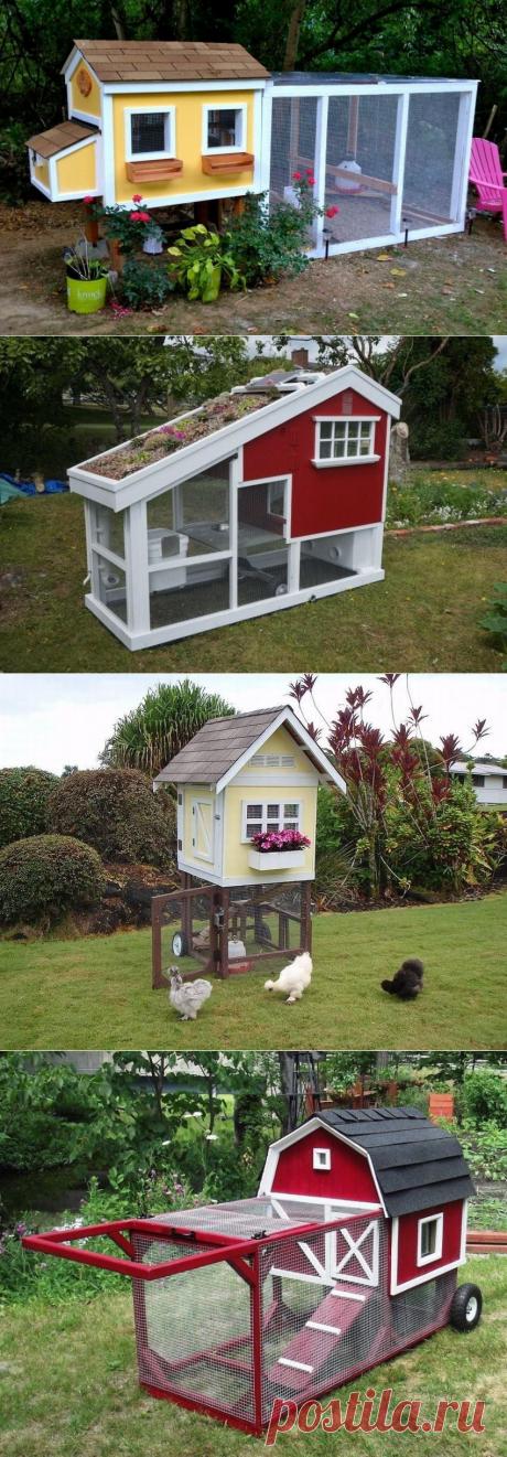 Домики для курочек