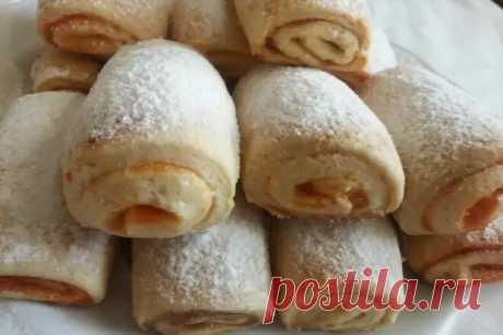Печенье с повидлом на сметане - Домашняя выпечка - медиаплатформа МирТесен