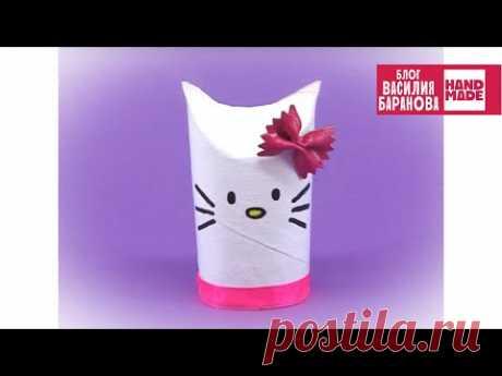 Упаковка для подарка «Хеллоу Китти» 🎀 / ПОДЕЛКА СВОИМИ РУКАМИ / HELLO KITTY / DIY / HANDMADE
