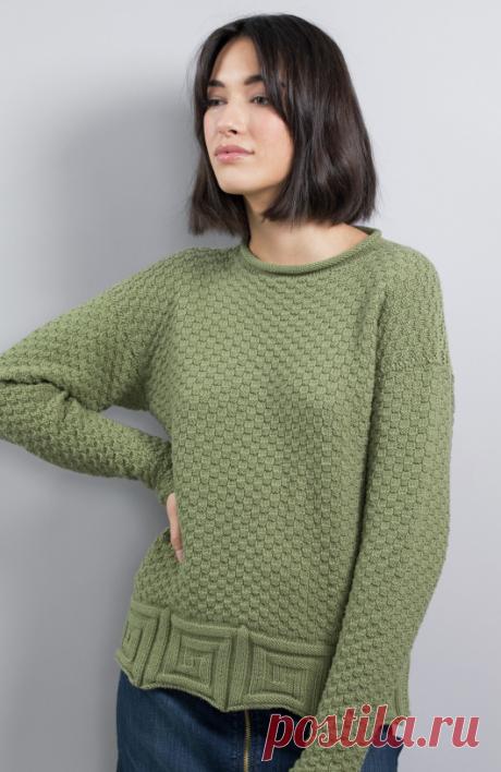 Вязаный пуловер Tabatha | ДОМОСЕДКА