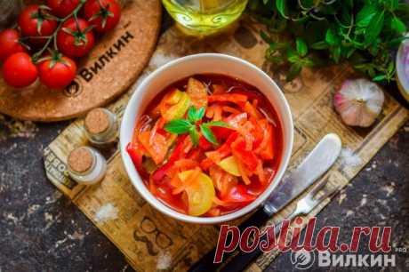 Лечо из кабачков на зиму: рецепт с фото пошагово