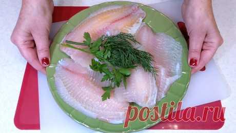 Угостила друзей вот такой рыбой в необычной панировке. Теперь все они готовят по моему новому рецепту   Розовый баклажан   Яндекс Дзен