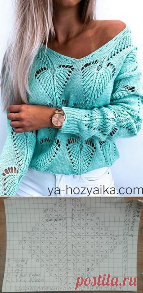 Стильный свитер с V-образной горловиной 2021. Модные свитера 2021 фото
