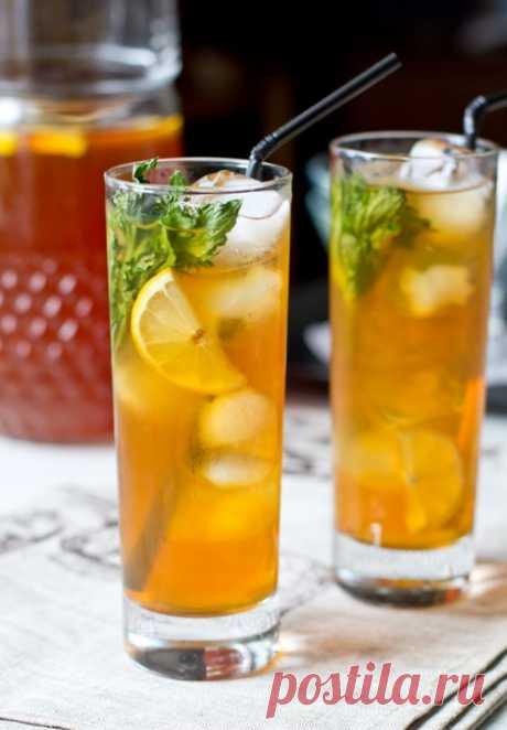 ༺🌸༻Ледяной чай с имбирем, лимоном и мятой на Вкусном Блоге Это лето быть особенно жарким вроде бы не обещает. Но я все равно предлагаю запастись несколькими рецептами прохладительных напитков. И начнем мы с ледяного чая. Это замечательный освежающий напиток, обладающий, ко всему прочему, еще и тонизирующим действием за счет кофеина, содержащегося в чае.