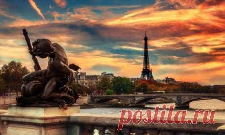 Вечерний Париж, Франция