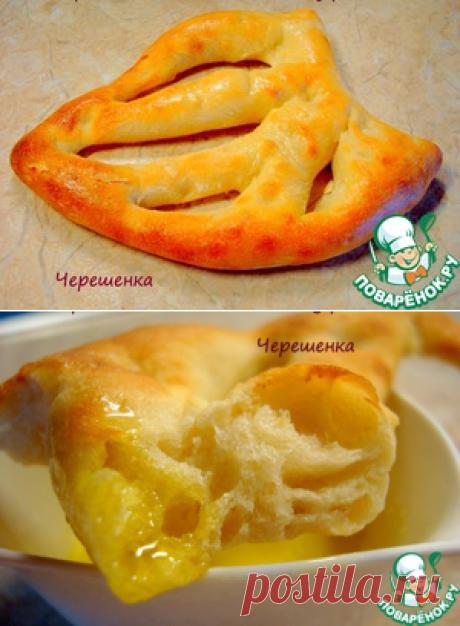 """Хлеб от Ришара Бертине """"Фугасс"""" - кулинарный рецепт"""