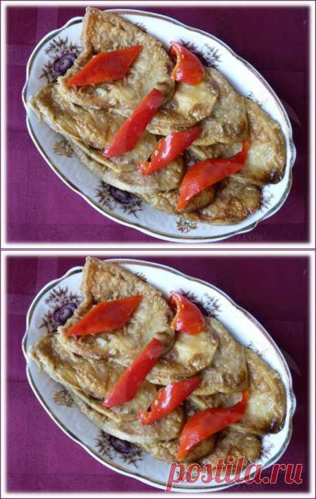Оригинальная закуска из баклажанов...со вкусом грибов..
