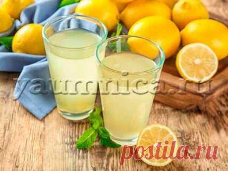 Сок лимона: приготовление, польза, вред, рецепты