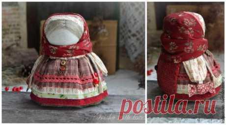Мастер-класс: куколка-оберег «Девочка с конфеткой»