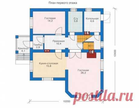 Готовые проекты домов коттеджей. Проекты и цены на дома и коттеджи в Липецке, Воронеже, Москве — Строительная компания ЛГрад |
