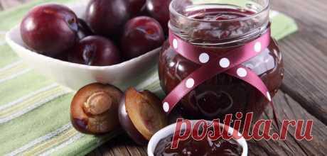Варенье из слив по-новому: рецепт шоколадно-фруктового десерта на зиму | Газета Я