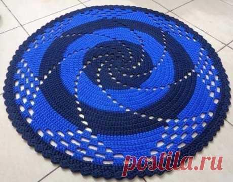 Коврик спираль
