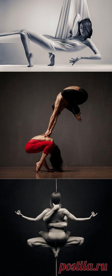 Вадим Штейн — украинский скульптор, который фотографирует танцоров