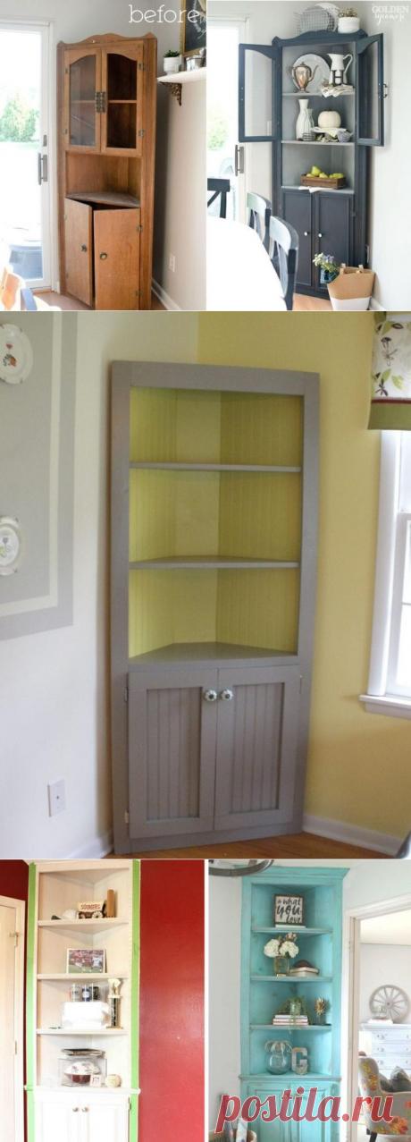 Как оптимизировать хранение с угловыми шкафами