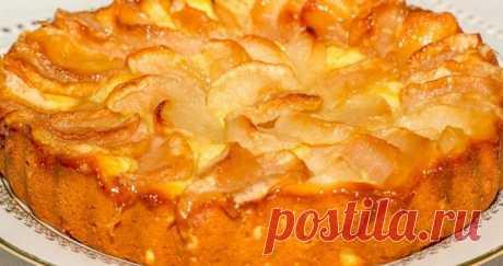 Шарлотка с творогом и яблоками: пошаговые рецепты с фото