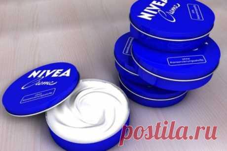 Удивительные применения крема Nivea в маленьких синих баночках. Об этом вы не знали! | Краше Всех