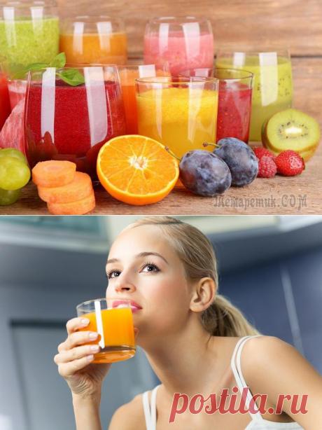 Toda la verdad sobre los jugos: ¿si son útiles para la salud?