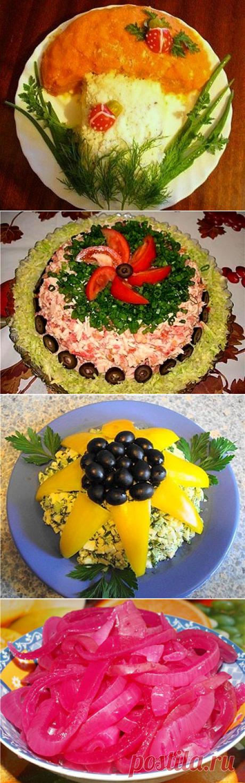 Оформление и украшение блюд + рецептики