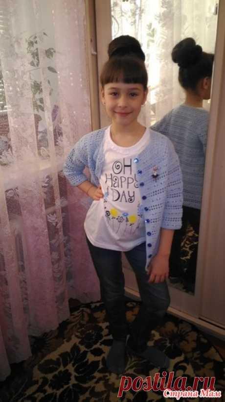 . Кардиган Uptown Chic для дочки - Вязание - Страна Мам