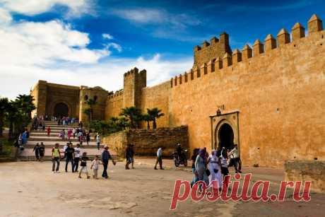 Касба Удайя - старинная цитадель столицы Марокко - Путешествуем вместе