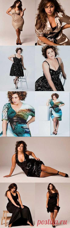 Красивые платья для полных дам
