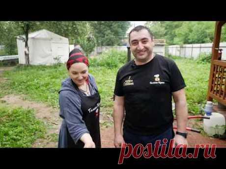 Как Цыганка и Армянин, варили пьяных раков. Встречаем друзей ,канал Галина кухня!!!