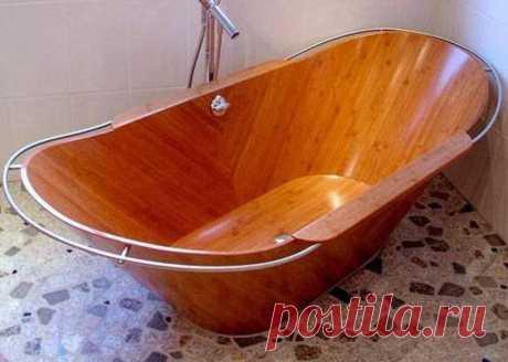 Деревянные ванны. 30 вариантов для идей. | | Для тех, кто любит работать с деревом