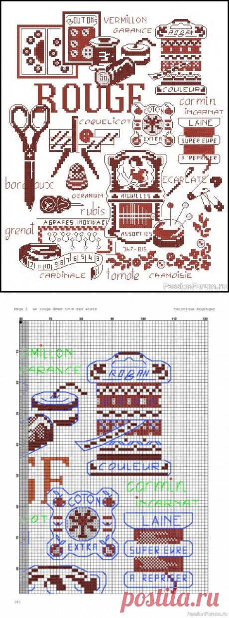 Семплер. Схема | Схемы вышивки крестом, вышивка крестиком
