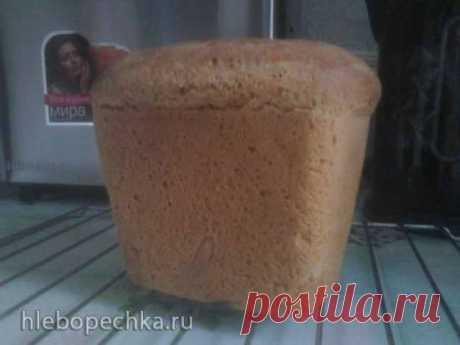 Пшенично-ржаной хлеб на закваске для формы Л-11 в хлебопечке - Хлебопечка.ру