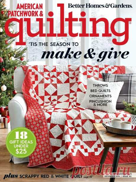 American Patchwork & Quilting №161 2019