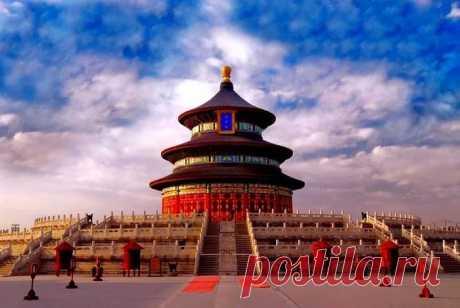 Храм Неба Пекин (Китай)