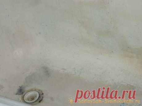 Покраска старой ванны — Pro ремонт