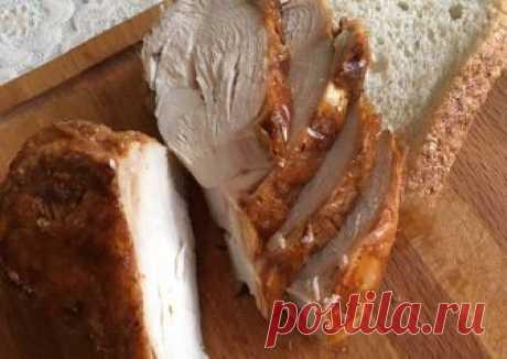 Куриная грудка запечённая в мультиварке Автор рецепта Марина Цепаева - Cookpad