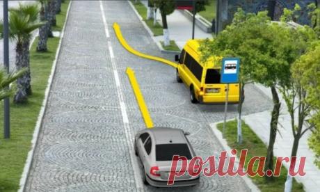Маршрутка отъезжает от остановки: должен ли водитель уступить? Нашел ответ в ПДД, всё просто | АвтоИнструктор | Яндекс Дзен