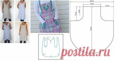 Как сшить кухонный фартук, передник из ткани своими руками: пошаговая инструкция для начинающих