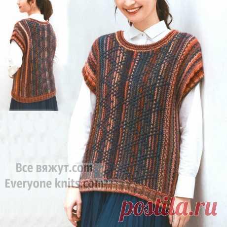 Страна восходящего солнца. Handmade от дизайнеров. 15 моделей спицами. | Все вяжут.сом/Everyone knits.com | Яндекс Дзен