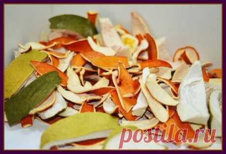 Использование мандариновых корок | Делимся советами