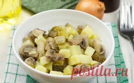 Картофельный салат - Retsept.net