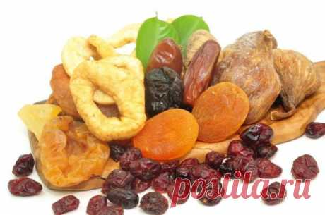Dried fruits - excellent substitutes of tablets! Dried fruits - the same drugstore. They maintain immunity, help to cure and prevent many diseases.