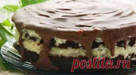 Торт «Баунти», райское наслаждение. Приготовь, не пожалеешь Вкусно безумно. Вкус напоминает всем известные и любимые конфеты. Сохрани рецепт! Это...