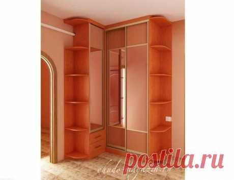 Угловой шкаф небольшого размера в спальню: фото, замер, заказ, доставка, дизайн