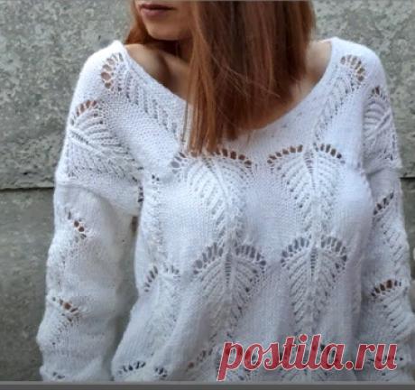 Вяжем стильные пуловеры на зиму спицами | Фото и схемы | Вязание от Софьи | Яндекс Дзен