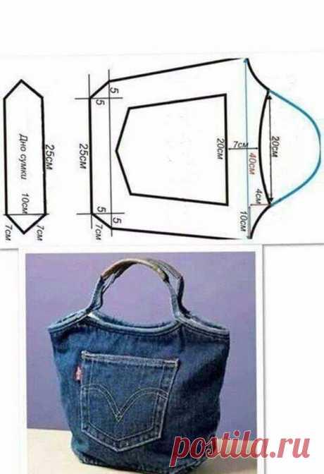 Шьем сумки своими руками. Выкройки сумок ~ Свое рукоделие
