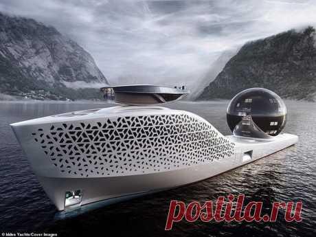 Грандиозный проект Iddes Yacht, научно-исследовательское судно Earth 300 оснащенное «реактором на расплавленной соли»