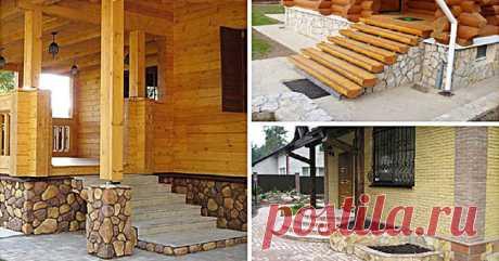 Крыльцо для частного дома: 15 идей дизайна и декора. Дом начинается с этого!
