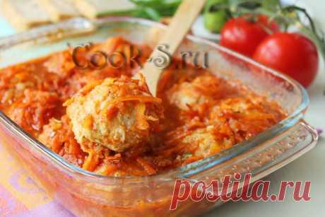 Рыбные тефтели в томатном соусе - рецепт с фото