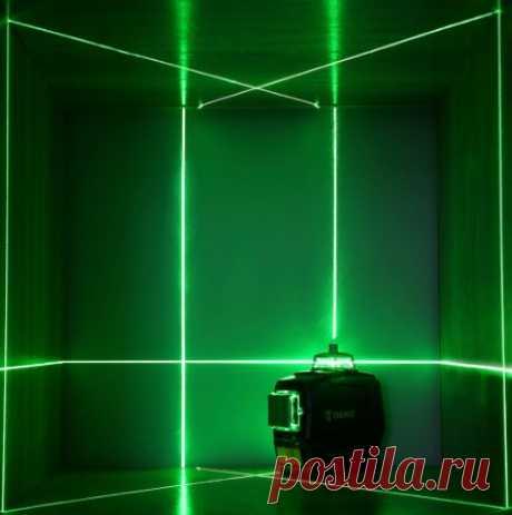 Лазерный уровень DEKO DC, горизонтальный и вертикальный 3D-лазер 12-линейный зеленый с автоматическим самовыравниванием