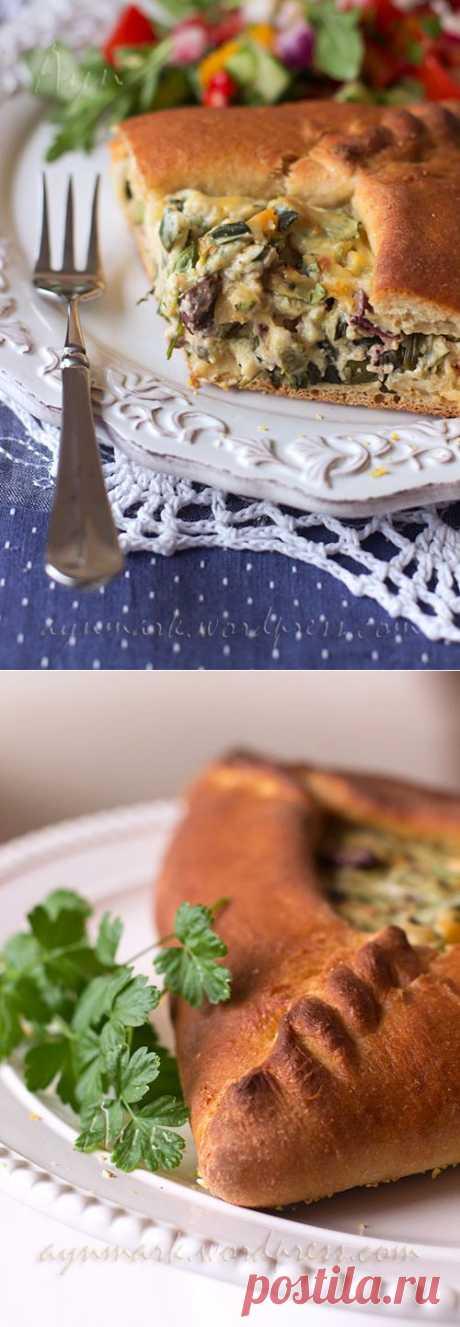Пирог с творожно-овощной начинкой | Мои Кулинарные Зарисовки