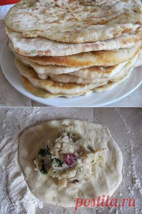 Лобиани с фасолью | 4vkusa.ru