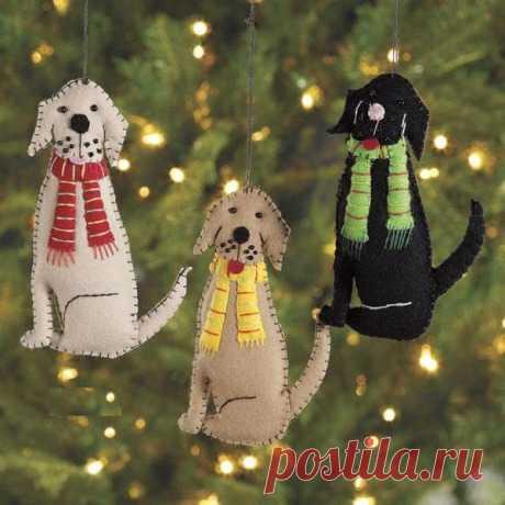 60 классных идей по созданию собаки своими руками — символа 2018 года - запись пользователя Татьяна в сообществе Новый год в категории новогодние подарки,поделки и костюмы